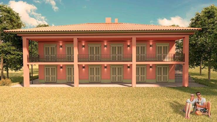 Houses by Elaine Hormann Architecture, Mediterranean