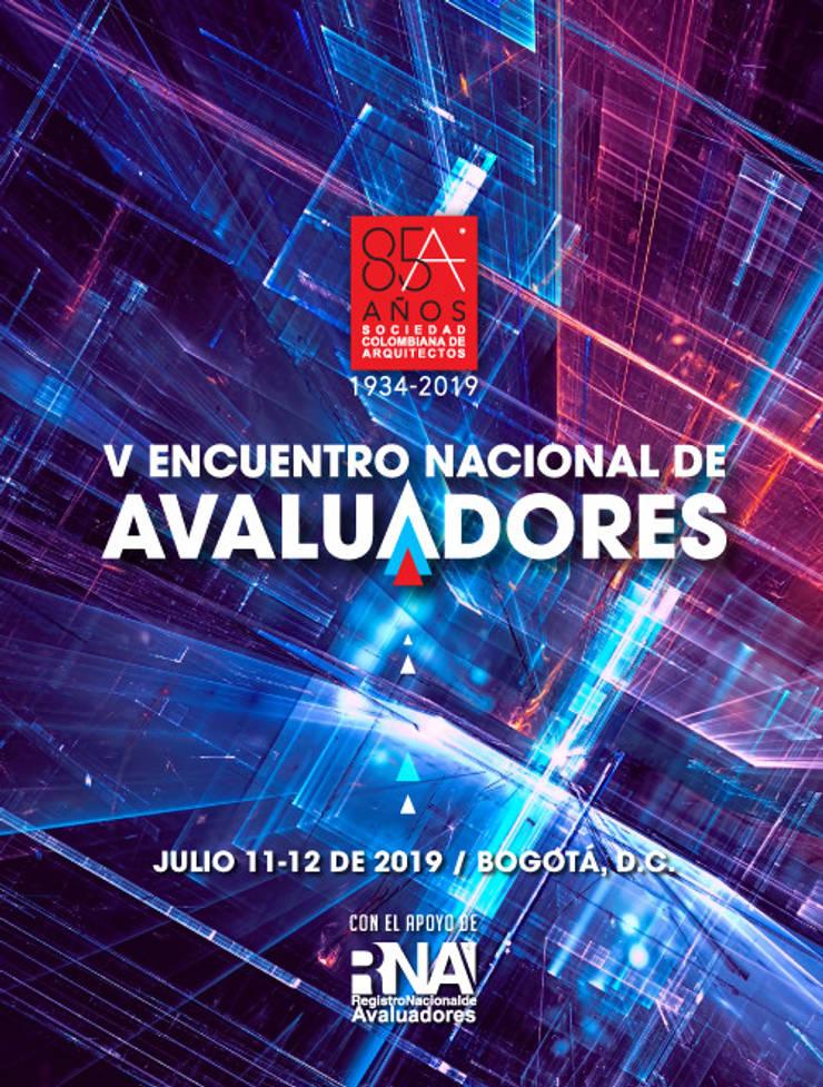 V ENCUENTRO NACIONAL DE AVALUADORES: Centros de exhibiciones de estilo  por Sociedad Colombiana de Arquitectos, Moderno