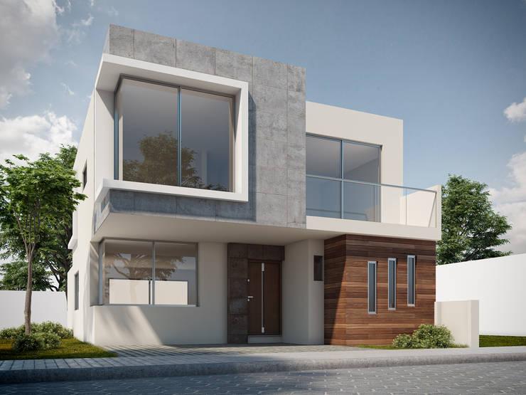 Vivienda en JLByR: Casas de estilo  por GSM Edificaciones, Clásico