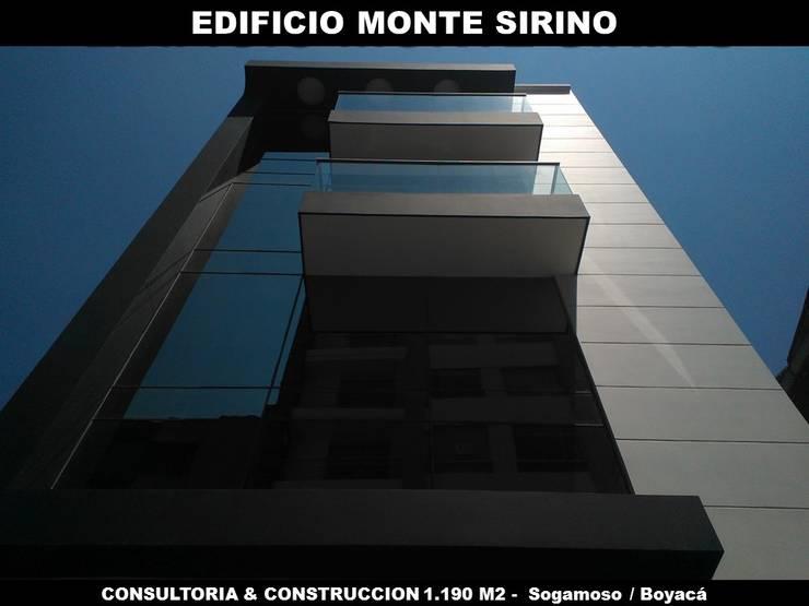 """EDIFICIO MONTE SIRINO:  de estilo {:asian=>""""asiático"""", :classic=>""""clásico"""", :colonial=>""""colonial"""", :country=>""""rural"""", :eclectic=>""""ecléctico"""", :industrial=>""""industrial"""", :mediterranean=>""""Mediterráneo"""", :minimalist=>""""minimalista"""", :modern=>""""moderno"""", :rustic=>""""rústico"""", :scandinavian=>""""escandinavo"""", :tropical=>""""tropical""""} por GRUPO ARBITEK S.A.S ,"""