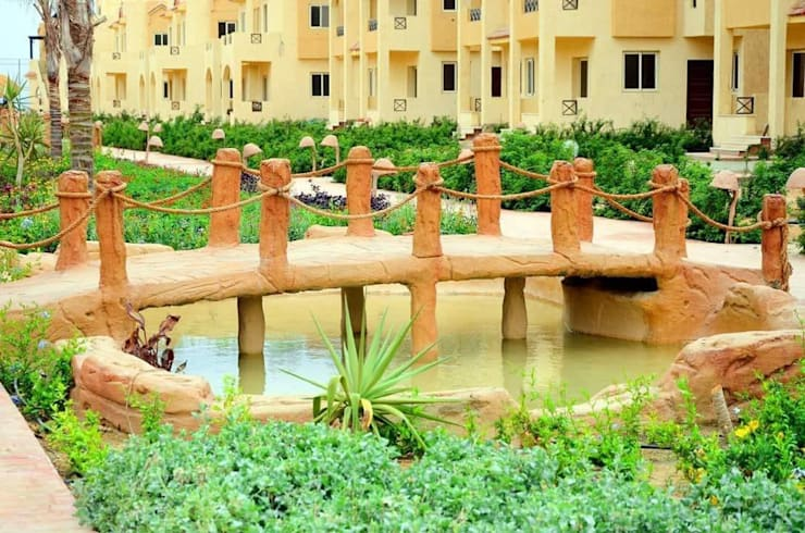 lablaya resort من Green line for landscape egypt حداثي حجر