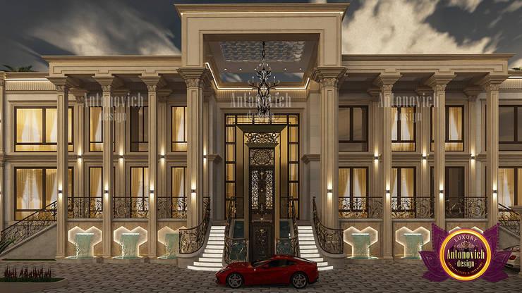 Magnificent Mansion Exterior Design by Luxury Antonovich Design