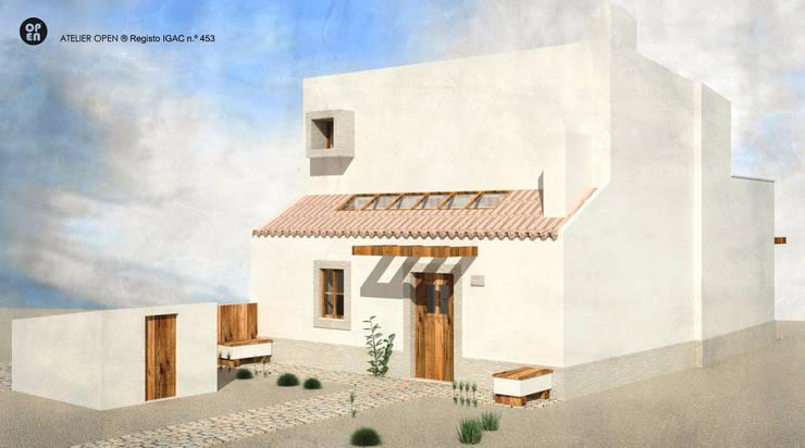 by ATELIER OPEN ® - Arquitetura e Engenharia Modern Concrete