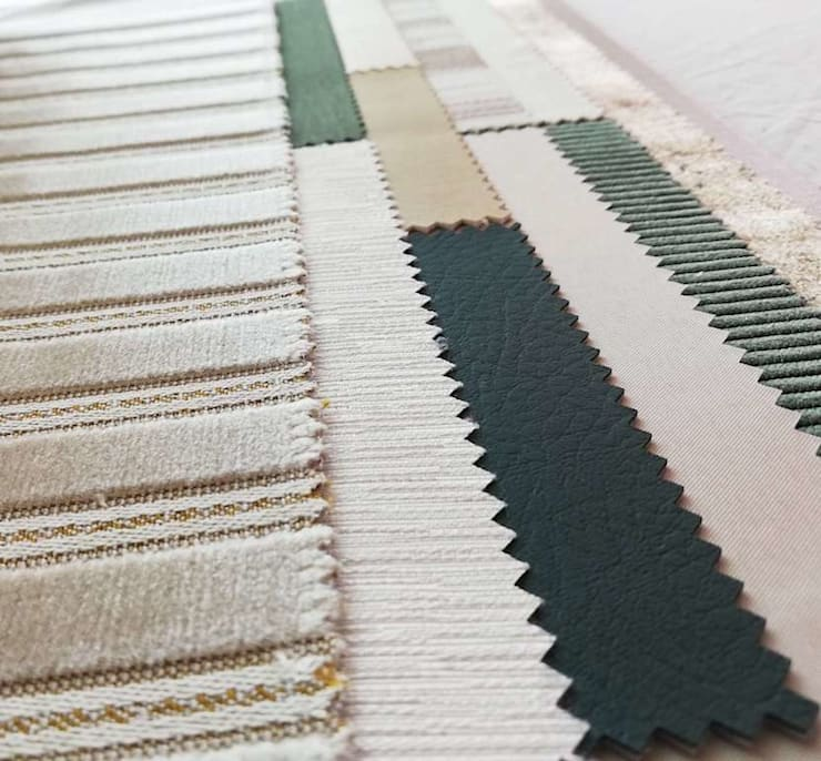 ทันสมัย  โดย EASYDEKOR Textiles de alto rendimiento, โมเดิร์น สิ่งทอ Amber/Gold