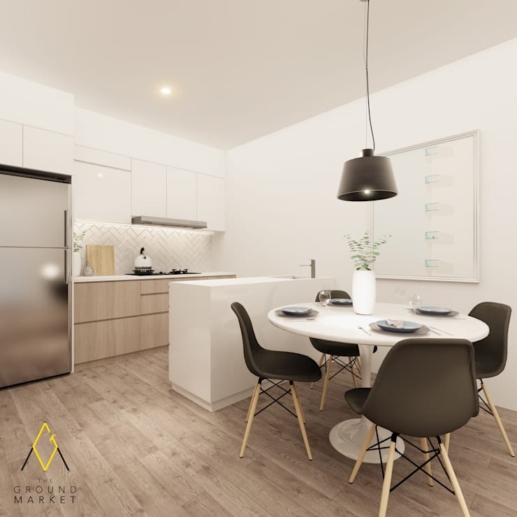 Kitchen & Dining Room Oleh The Ground Market