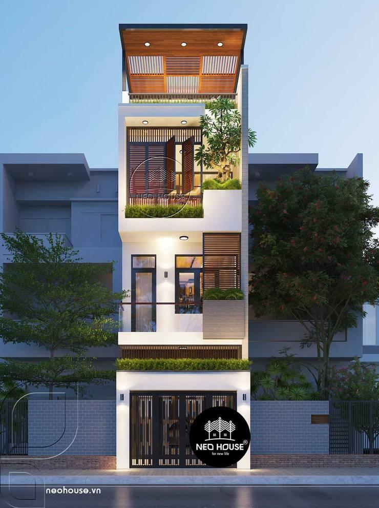 Thiết nhà phố hiện đại 3 tầng đẹp tại Đà Nẵng bởi NEOHouse