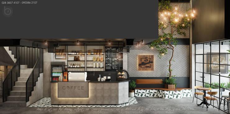 THIẾT KẾ NỘI THẤT COFFEE SHOP (PR1922) bởi Bel Decor