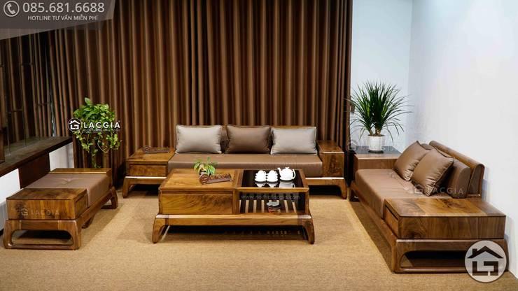 Mẫu sofa mới nhất tại Xhome: hiện đại  by Xhome, Hiện đại Gỗ Wood effect