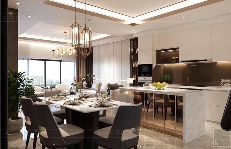 Nội thất đẳng cấp từ ICON INTERIOR: Vẻ đẹp lay động trong thiết kế Phòng ăn phong cách kinh điển bởi ICON INTERIOR Kinh điển