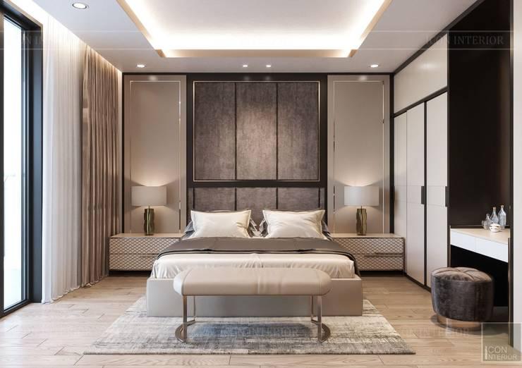 Nội thất đẳng cấp từ ICON INTERIOR: Vẻ đẹp lay động trong thiết kế Phòng ngủ phong cách kinh điển bởi ICON INTERIOR Kinh điển