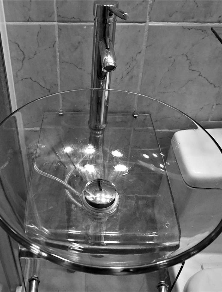 Remodelación Baño Baños de estilo minimalista de BP Design Minimalista