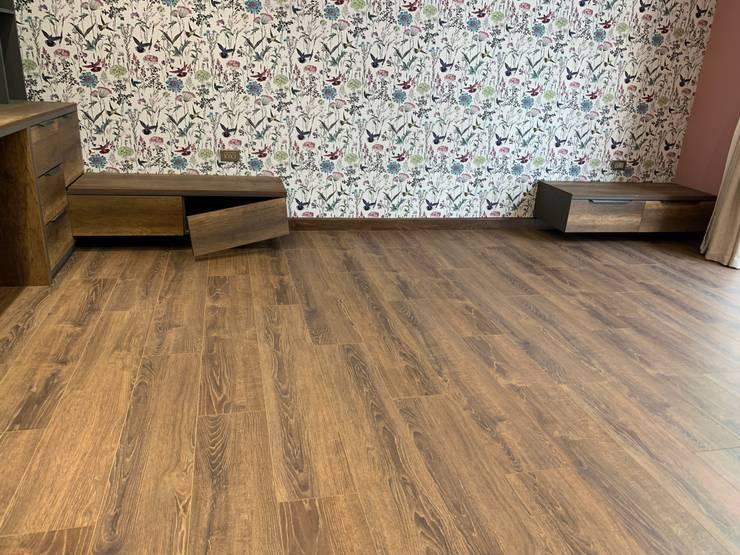Dự án lát sàn gỗ Alsa 620 cho chủ biệt thự tại Vinhomes Nguyệt Quế: scandinavian  by Công ty CP Sàn Đẹp, Bắc Âu