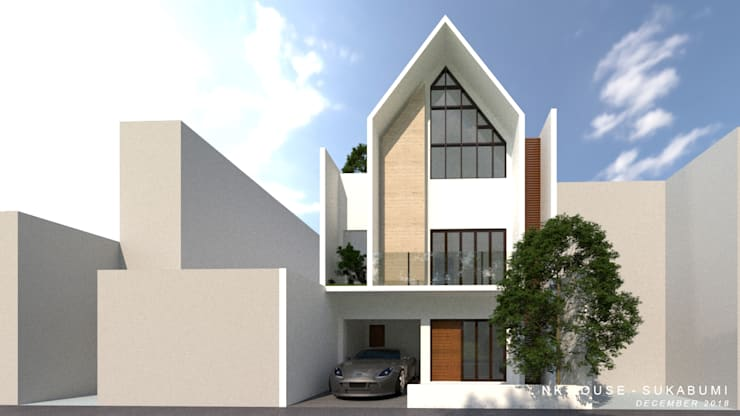 EM House by Apapa Studio Tropical Concrete