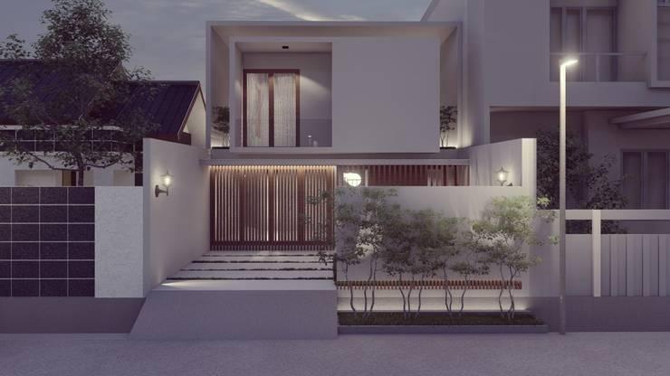 OE House by Apapa Studio Modern Concrete