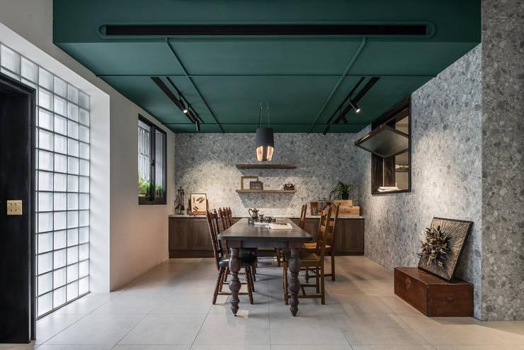 美味影像攝影棚 根據 漢玥室內設計 日式風、東方風 塑木複合材料
