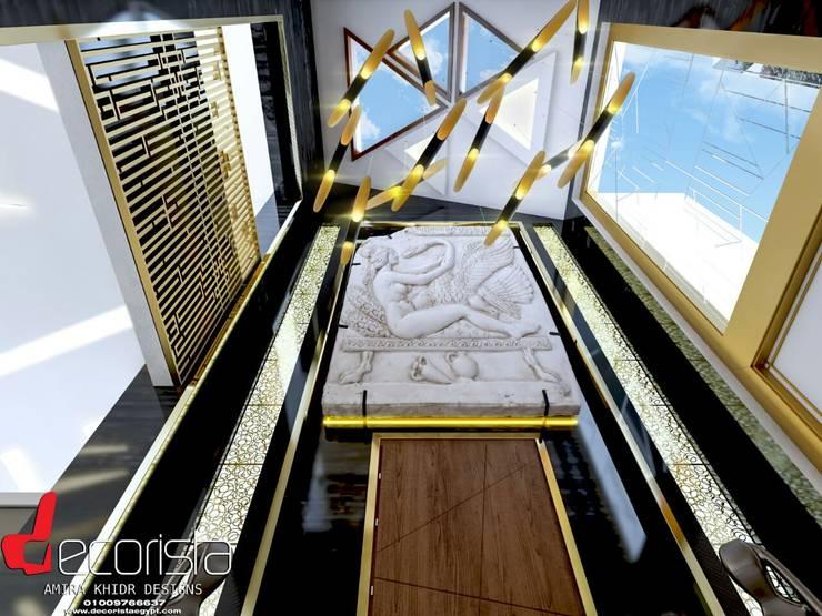تصميم فيلا سكنية القاهرة الجديدة من Decorista Egypt حداثي