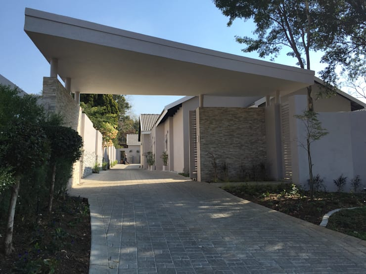 New Entrance: modern  by Allison's drawing office -Pat Armstrong, Modern