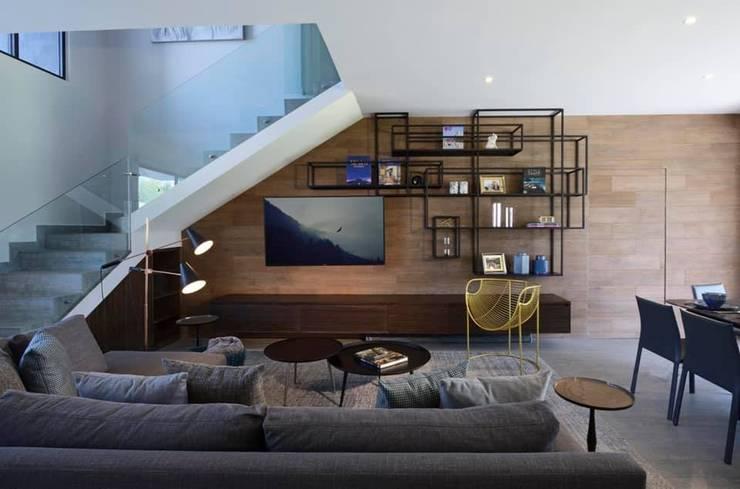 Concepto Taller de Arquitectura Modern Living Room by Concepto Taller de Arquitectura Modern