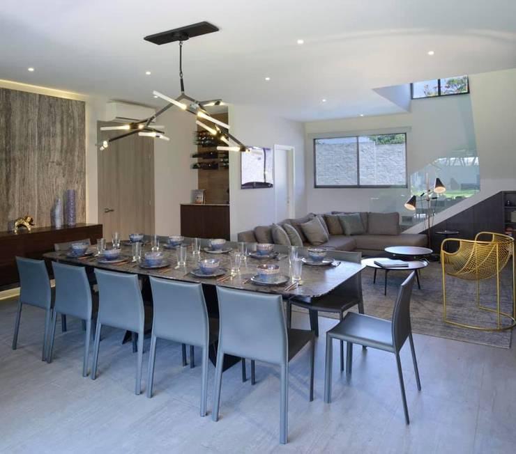 Concepto Taller de Arquitectura Modern Dining Room by Concepto Taller de Arquitectura Modern