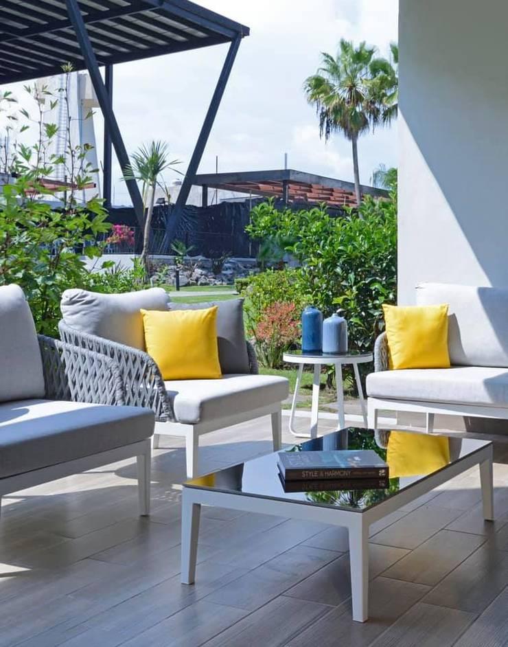 Concepto Taller de Arquitectura Modern Terrace by Concepto Taller de Arquitectura Modern