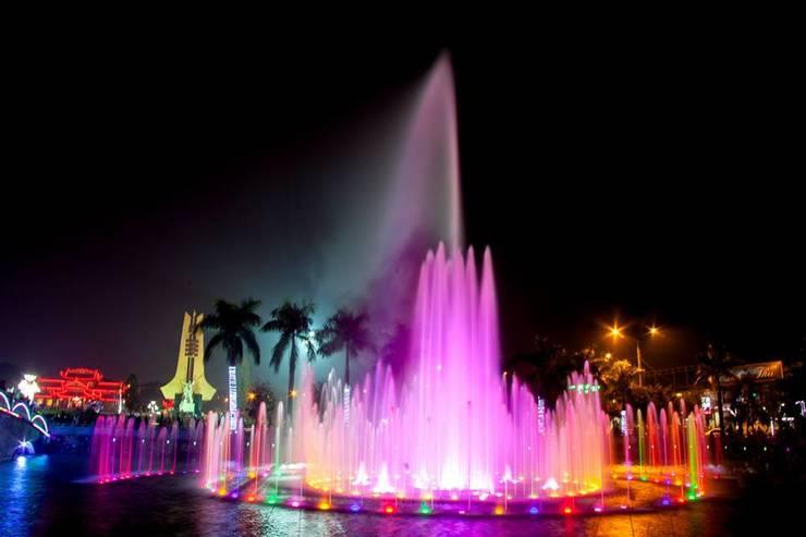 Đài phun nước Phổ Yên bởi Công ty Đài phun nước TDV Việt Nam Hiện đại