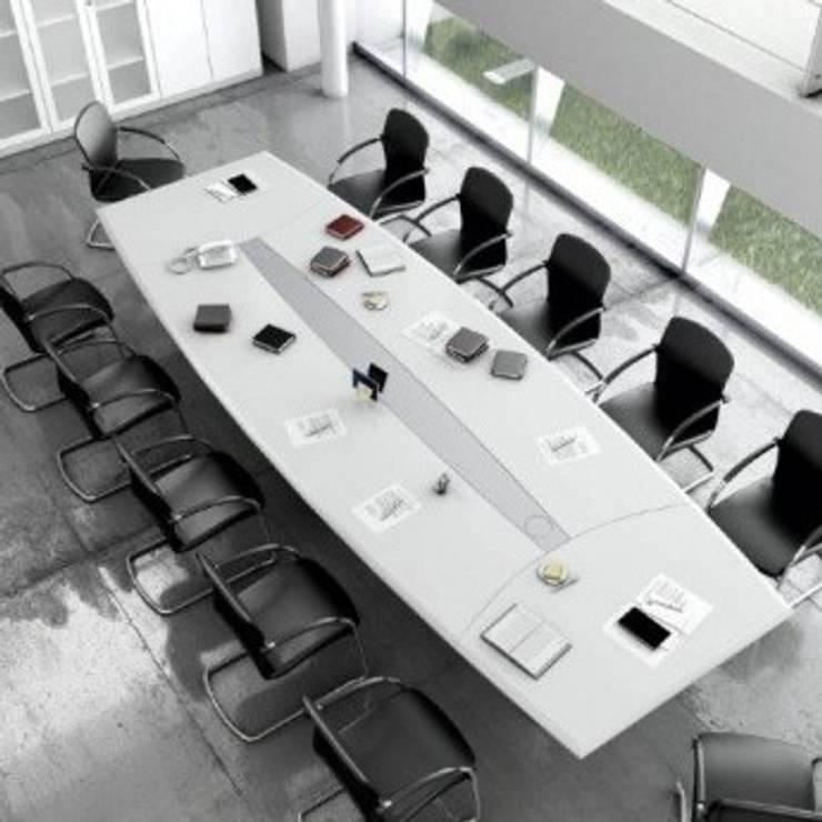 Arquitectura Interior y Mobiliario Oficinas y bibliotecas de estilo moderno de GB Arquitectura Moderno
