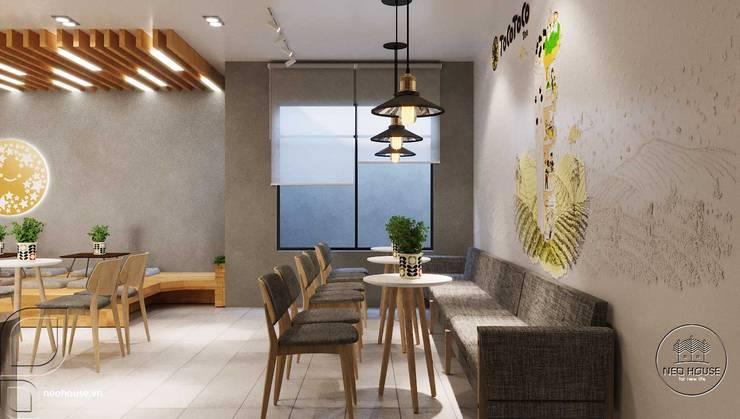 Mẫu thiết kế nội thất trà sữa Tocotoco Nha Trang bởi NEOHouse