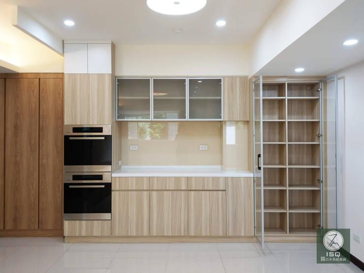 全室案例-台北市松山區 根據 ISQ 質の木系統家具 簡約風