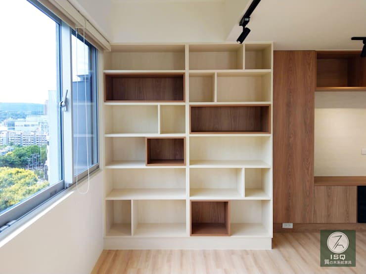 全室案例-台北市士林區 根據 ISQ 質の木系統家具 簡約風