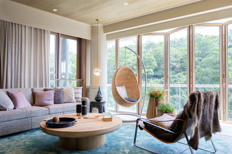 Living area Modern living room by Lot Architects Ltd Modern
