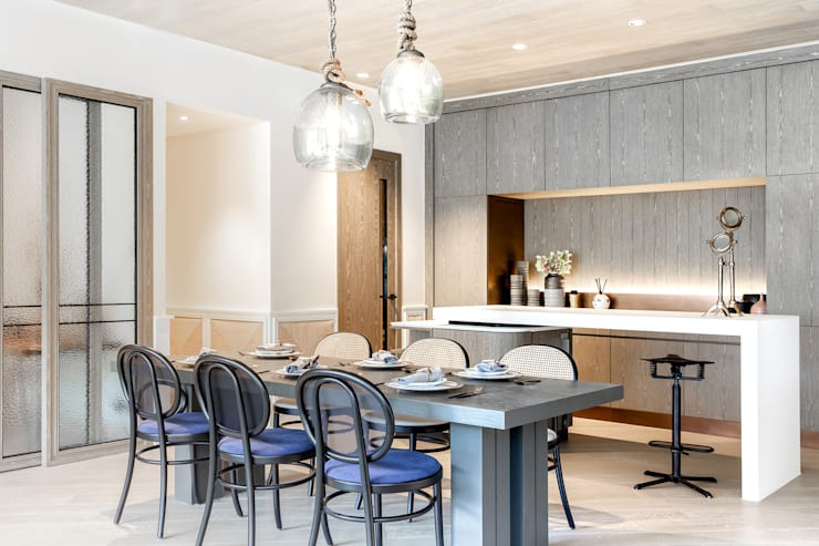 Dining area Modern dining room by Lot Architects Ltd Modern