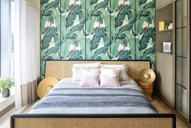 Main bedroom Modern style bedroom by Lot Architects Ltd Modern
