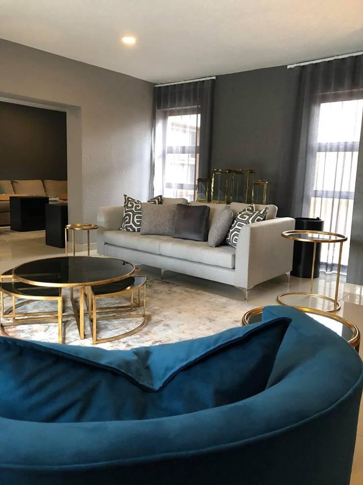 Bedfordview Villa Modern living room by CKW Lifestyle Associates PTY Ltd Modern