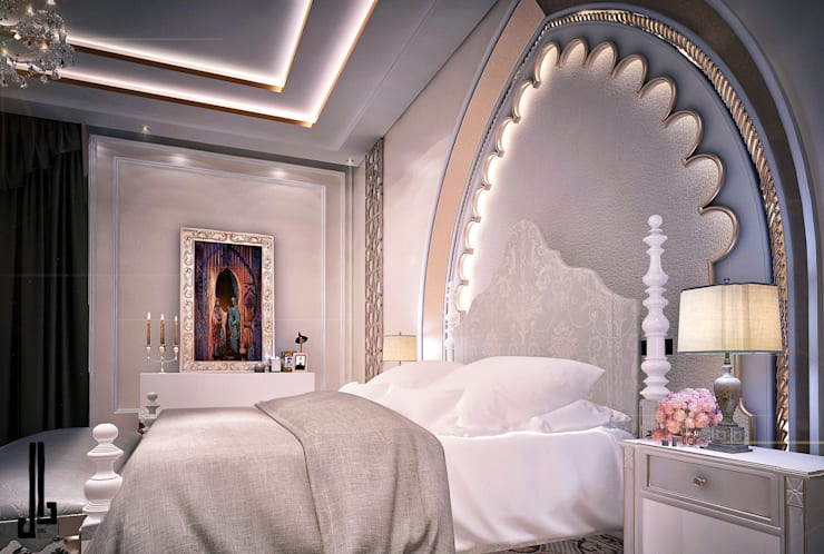 Private palace Modern Bedroom by dal design office Modern