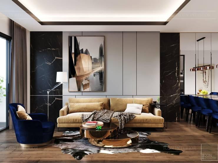 Thiết kế căn hộ hiện đại – mảnh ghép cuối hoàn thiện cuộc sống trong mơ bởi ICON INTERIOR Hiện đại