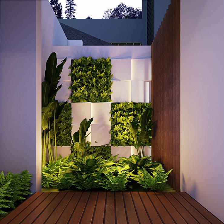 Taman Kamar Oleh GUBAH RUANG studio Modern Kayu Lapis