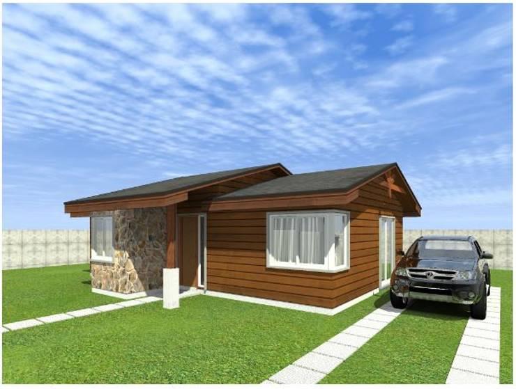 Modelo Constructivo 65 Casas de estilo clásico de R&R Construccion Clásico