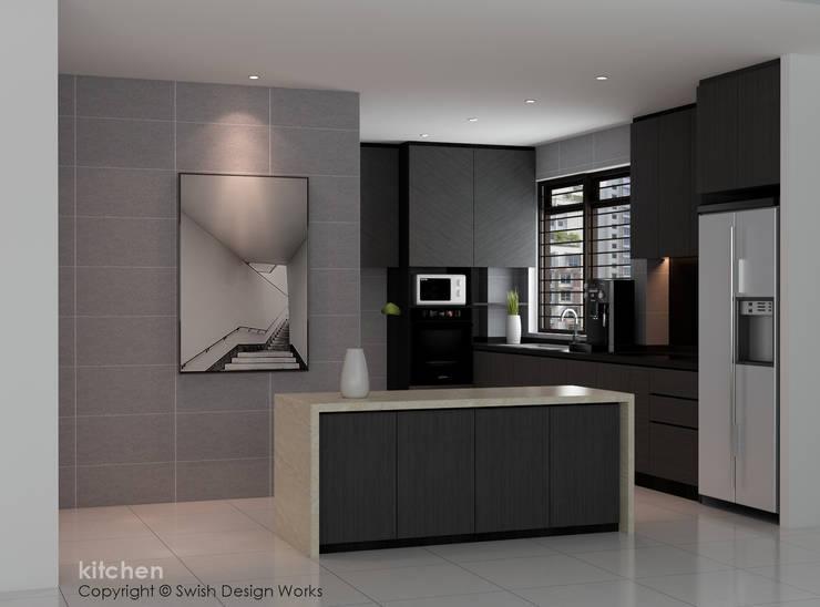 Kitchen/ Island by Swish Design Works Classic Plywood