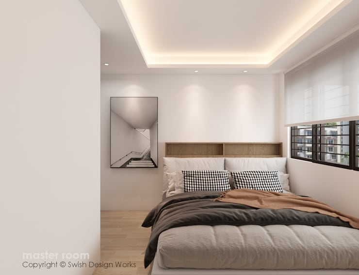 Master Bedroom by Swish Design Works Classic