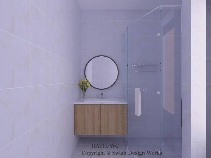 Bathroom Vanity Cabinet Scandinavian style bathroom by Swish Design Works Scandinavian