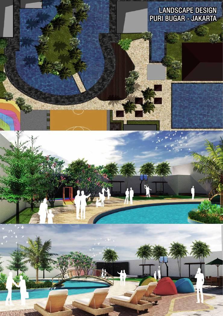 Swimming Pool Design Oleh Marl Design Studio