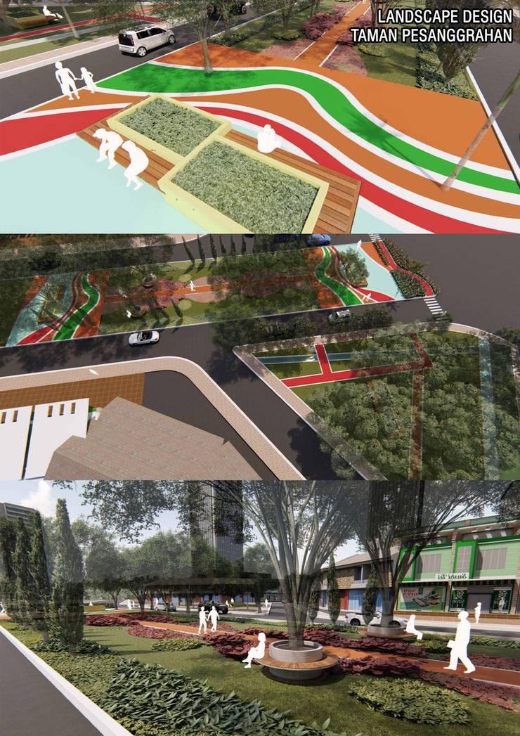 Public Park Design Oleh Marl Design Studio