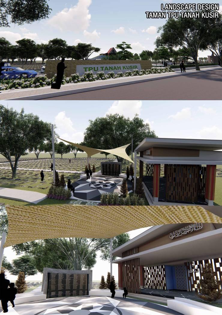 Funeral Park Design Oleh Marl Design Studio