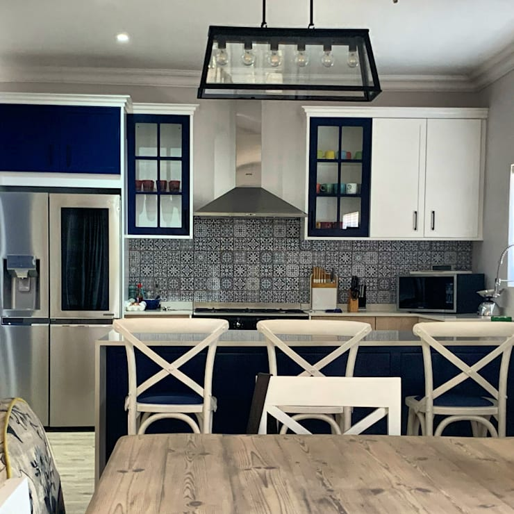 Kitchen remodeling by CS DESIGN Modern MDF