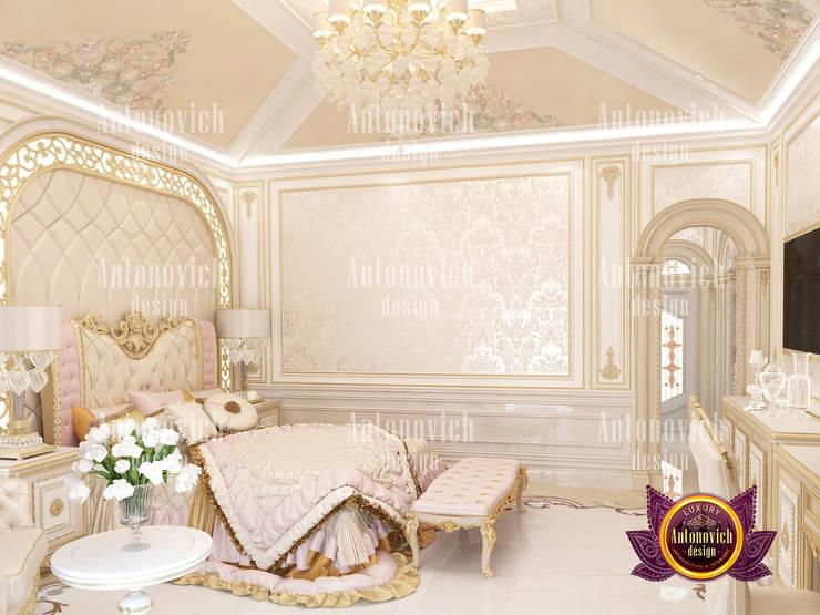 Best Bedroom Design Bahrain by Luxury Antonovich Design