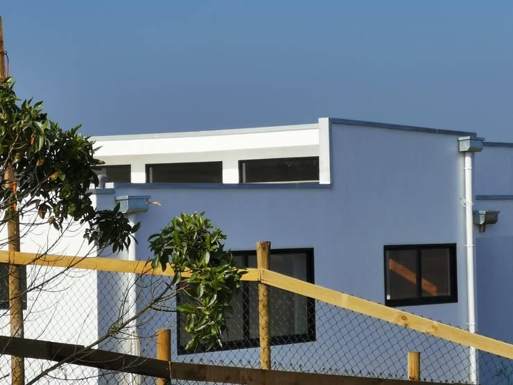 Casa Punta Piedra Ritoque Casas estilo moderno: ideas, arquitectura e imágenes de MMS Arquitectos Moderno