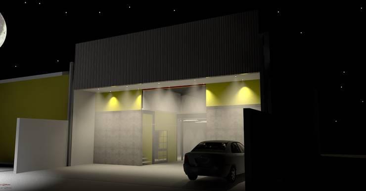 Proyecto de Diseño de Bodega Inofensiva de ARQUITECTO CHILLAN EIRL Industrial