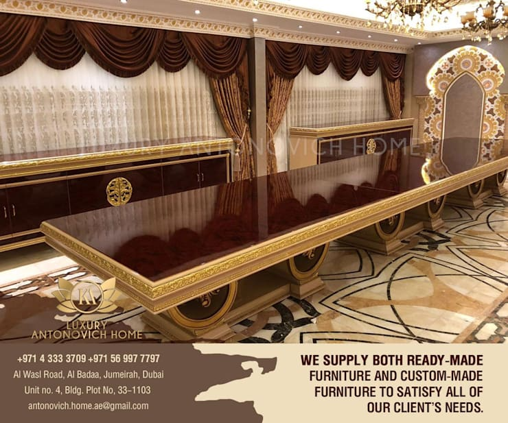 Exclusive Furniture Collection Bahrain by Luxury Antonovich Design