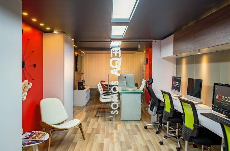 oficina Salas modernas de AQ3 COL SAS Moderno
