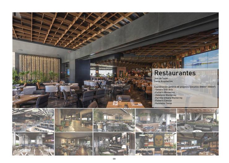 Restaurantes Modern Dining Room by üStudio Modern